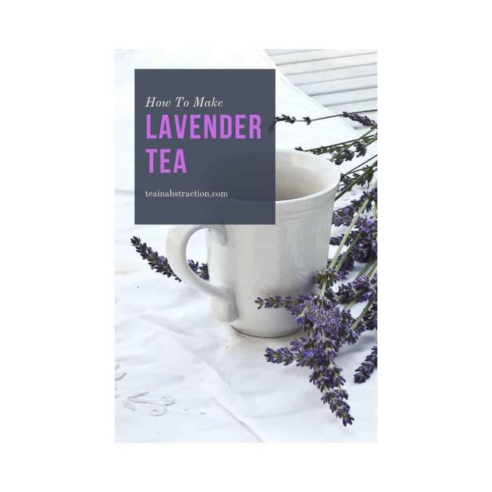 lavender tea make featured image