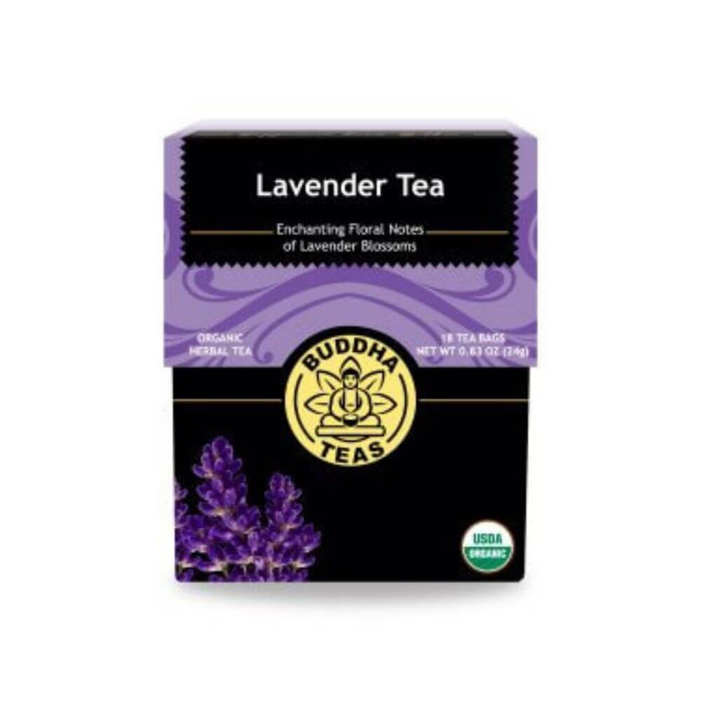 buddha tea lavender tea box