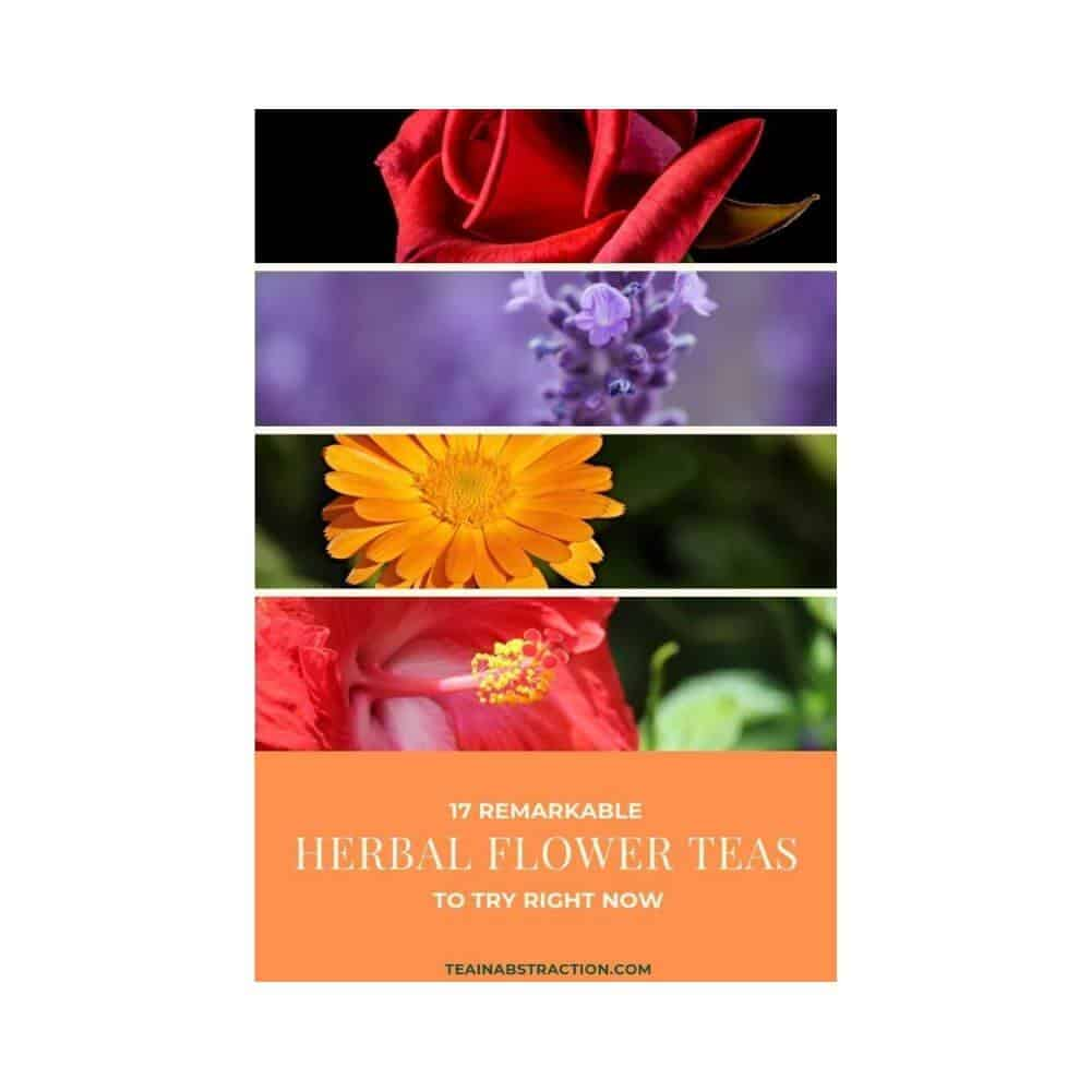 Featured flower herbal teas