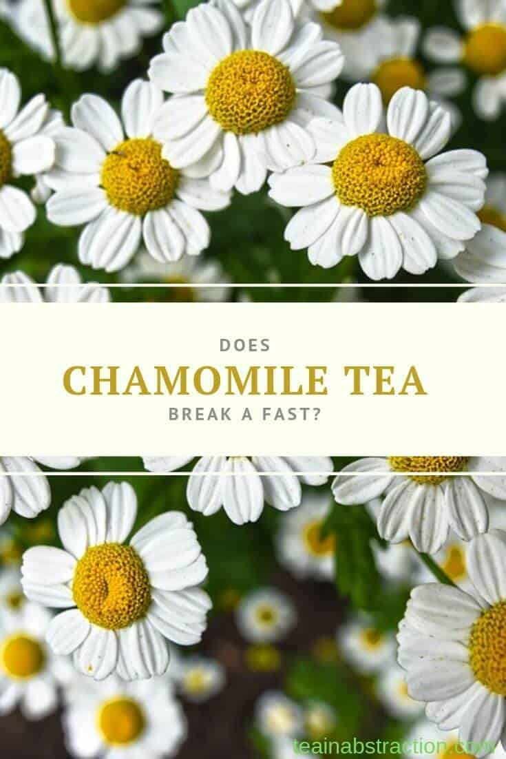 does chamomile tea break a fast pinterest image