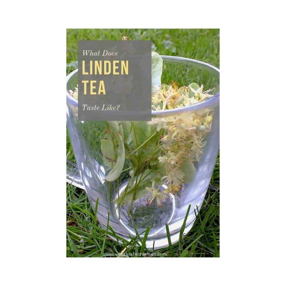 linden flowers in a cup