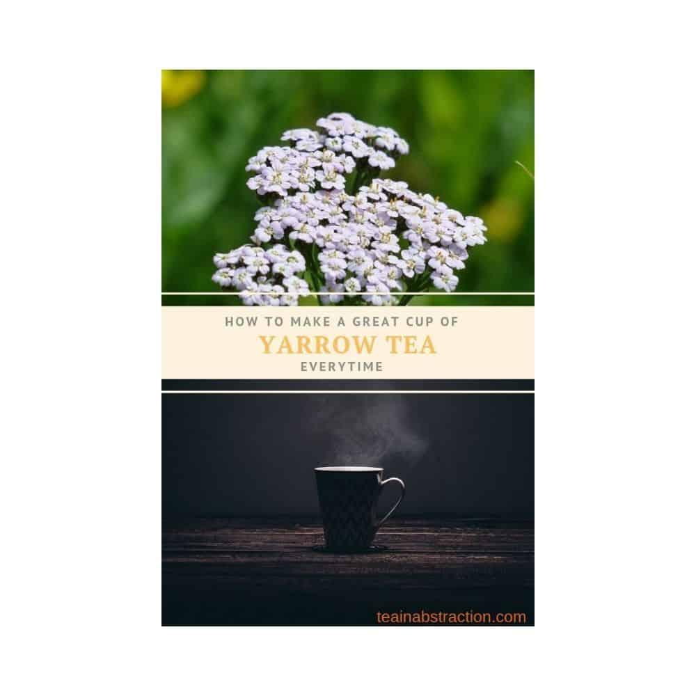 yarrow flowers an tea cup