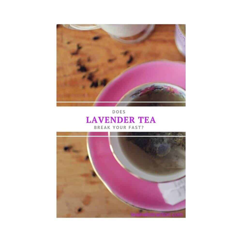 lavender tea and fasting featured image