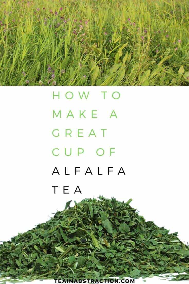 How To Make Alfalfa Tea Pinterest Image