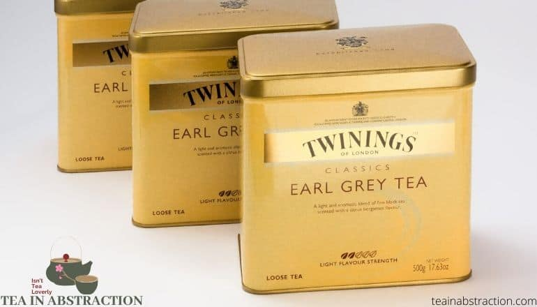 tins of earl grey tea