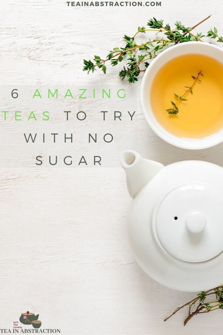 no sugar in tea pinterest image
