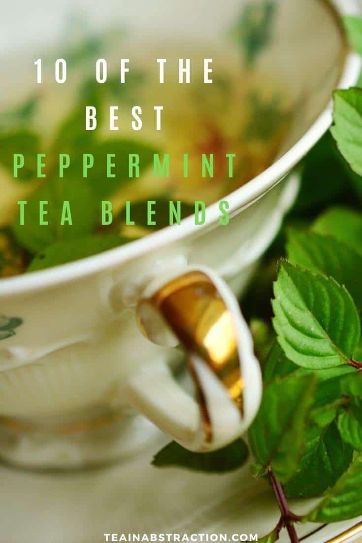 best peppermint tea blends pinterest image