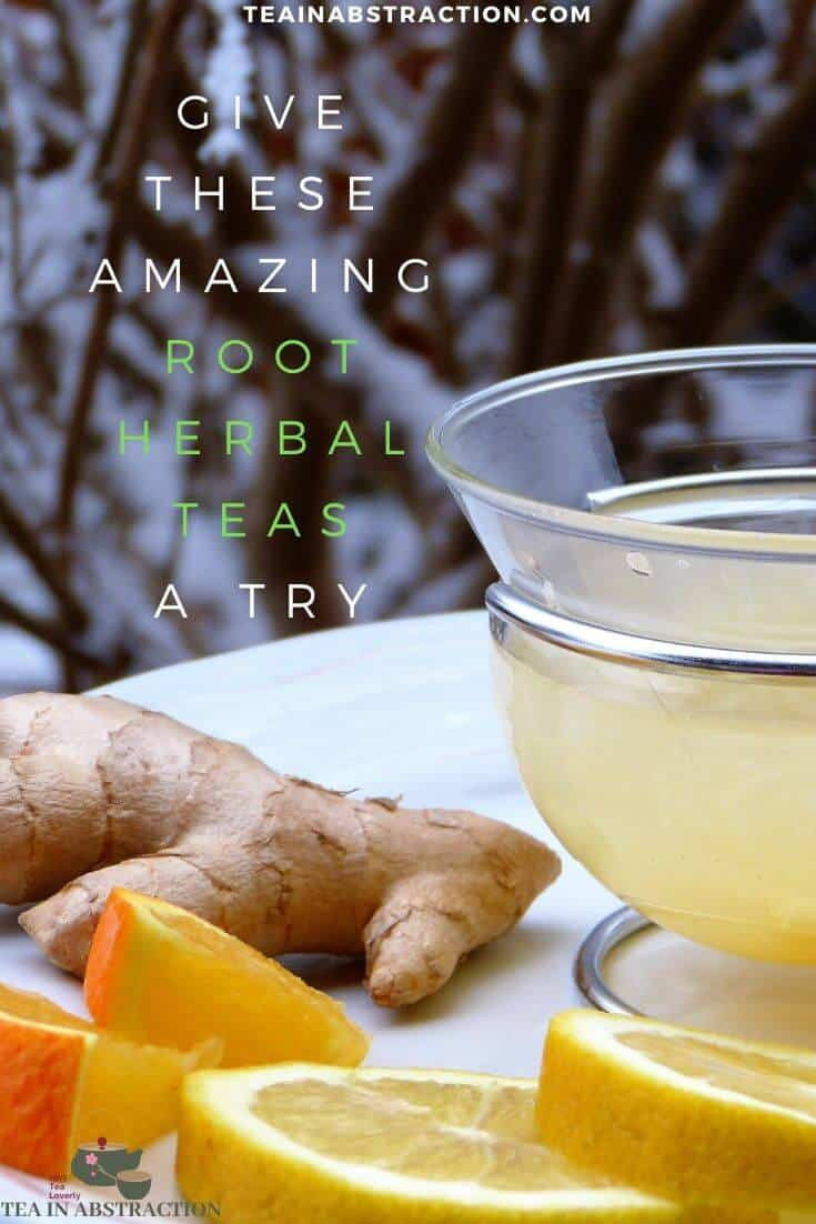 root herbal teas pinterest image