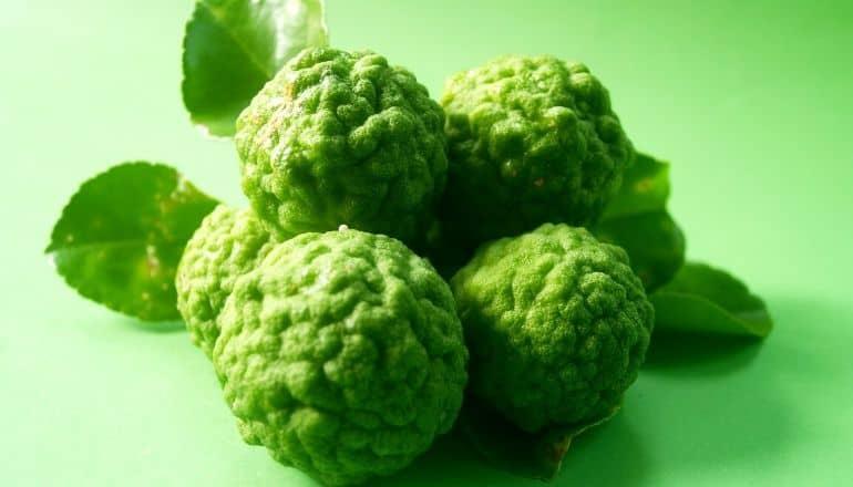 cluster of bergamot fruit