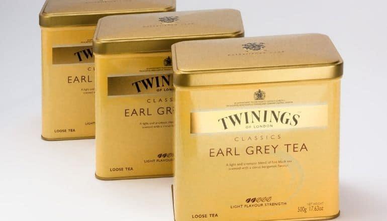 twinnings earl grey tea tins