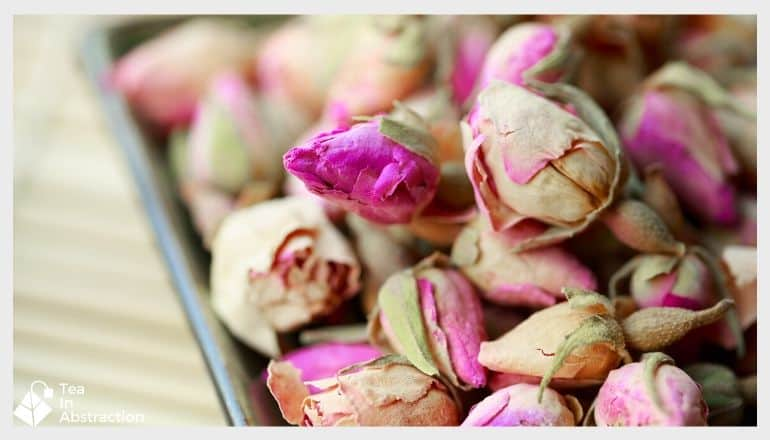 dried rose flowers for tea