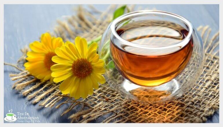 a nice cup of calendula tea